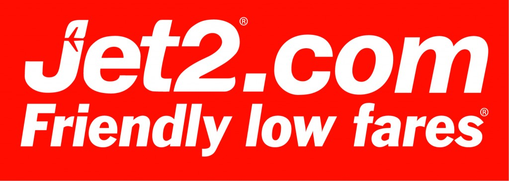 Jet2logo on red